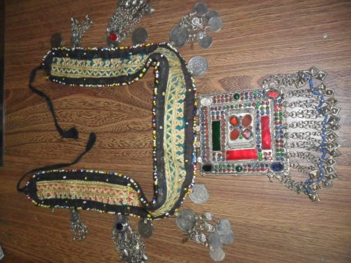 Kuchi Tribal Handmade Belts with Antique Parts