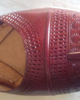 Brown Colour Pure Leather Khusa