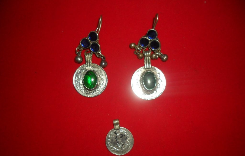 Coins Ear Rings
