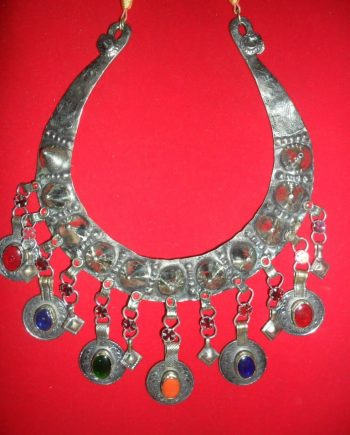 Moon Shape Necklace with large tack