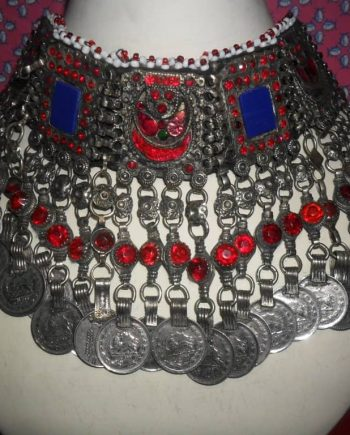 Kuchi Tribal Necklace with pearls
