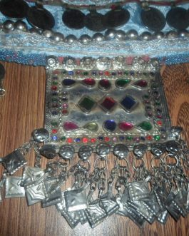 Afghani Belly Dance Belt with Antique Parts