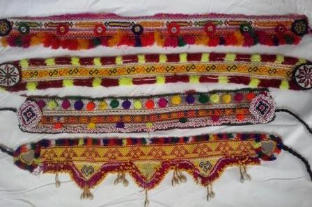 Fabric Belt with Beautiful Design