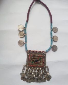 Afghani Coins Necklace