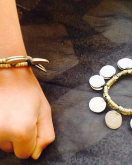 Antique Coins Bracelet