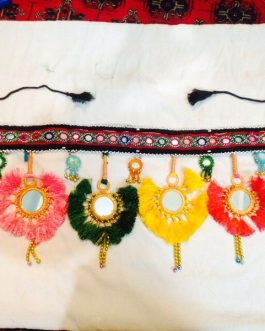 Six Flower Handmade Belt