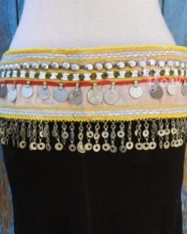 Belly-dance Coins and Metal Frill Belt