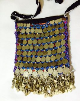 Antique Coins and Bells Ladies Bag