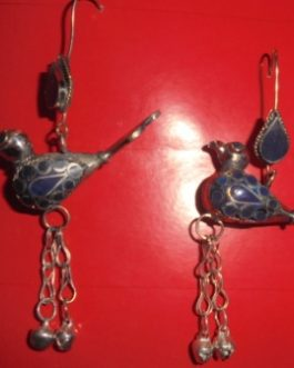 Bird & Bells Ear Rings