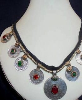 Antique Coins Necklace