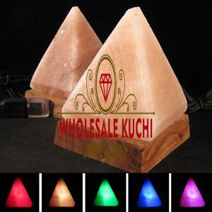 USB Pyramid Salt Lamp