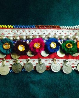 Double Coins & Flower Fabric