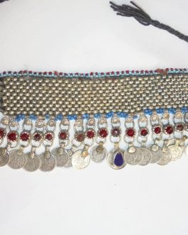 Antique Necklace with Crystal