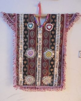 Long Vest/Poncho Made By Metal, Shell & Medallions
