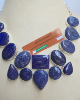 Original Lapiz Lazuli Stone Necklace-IN