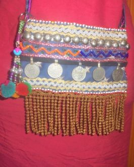 Antique Coins Shoulder Bag