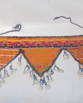 Shell & Embroidery Belt