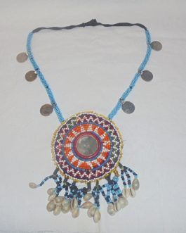 Medal, Shell & Coins Necklace