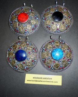 Multi Stone Antique Pendants