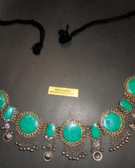 Malachite Stone Belly Belt