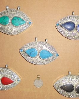 Queen Eye Multi Stone Pendants