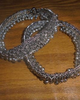 Metal Anklet With Bells-IN