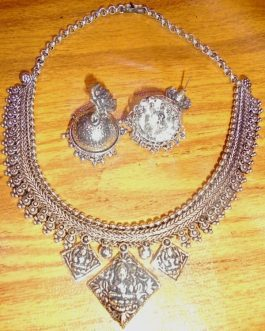 Buddha Metal Necklace Set -IN