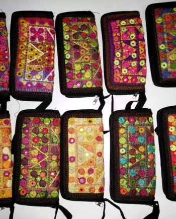 Afghan Mirror Embroidery Hand Clutch