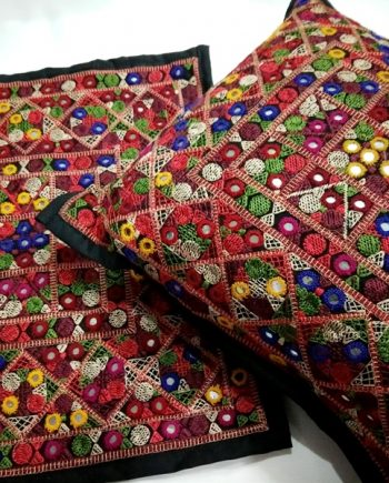 Afghani Embroidered Cushion Cover S (Without filling)