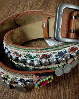 Kuchi Jeans Belt made by Coins & China Leather