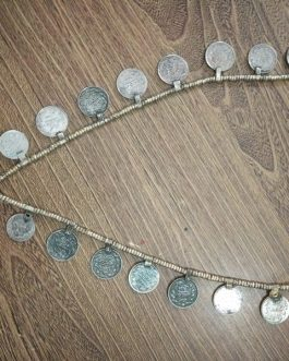 Big Bell & Coins Necklace