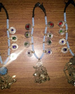 Crystal Coins & Pendant Necklace