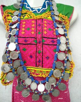 Double Coins Layer Long Necklace