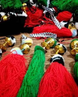 Afghani Wholesale Tassel (Price/Dozen)
