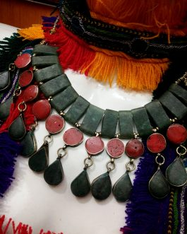 Beauties Necklaces With Coral Stones