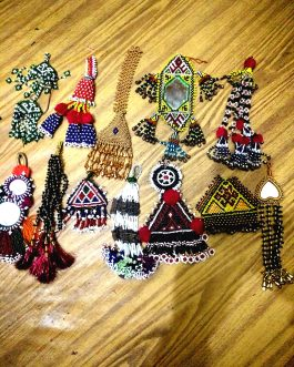Afghani Wholesale Multi Tassel (Price/Dozen)