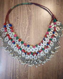 Big Afghani Pendants & Coins Necklace/Belt