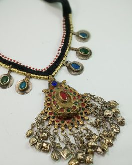 Bridal Pendant & Coins Necklace