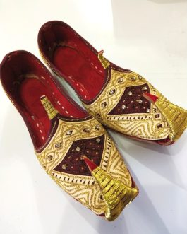 Handmade Multi Design Traditional Shoes KHUSSA