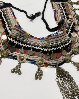 Afghani Belt with Tukman Haning Beads