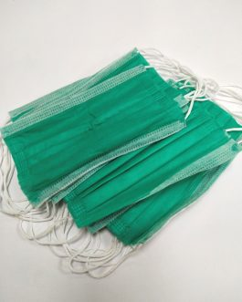 3Ply Green Surgical Mask for COVID-19